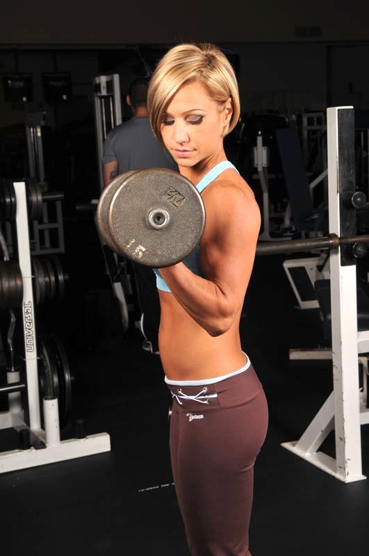 Tone arms with Bicep curls