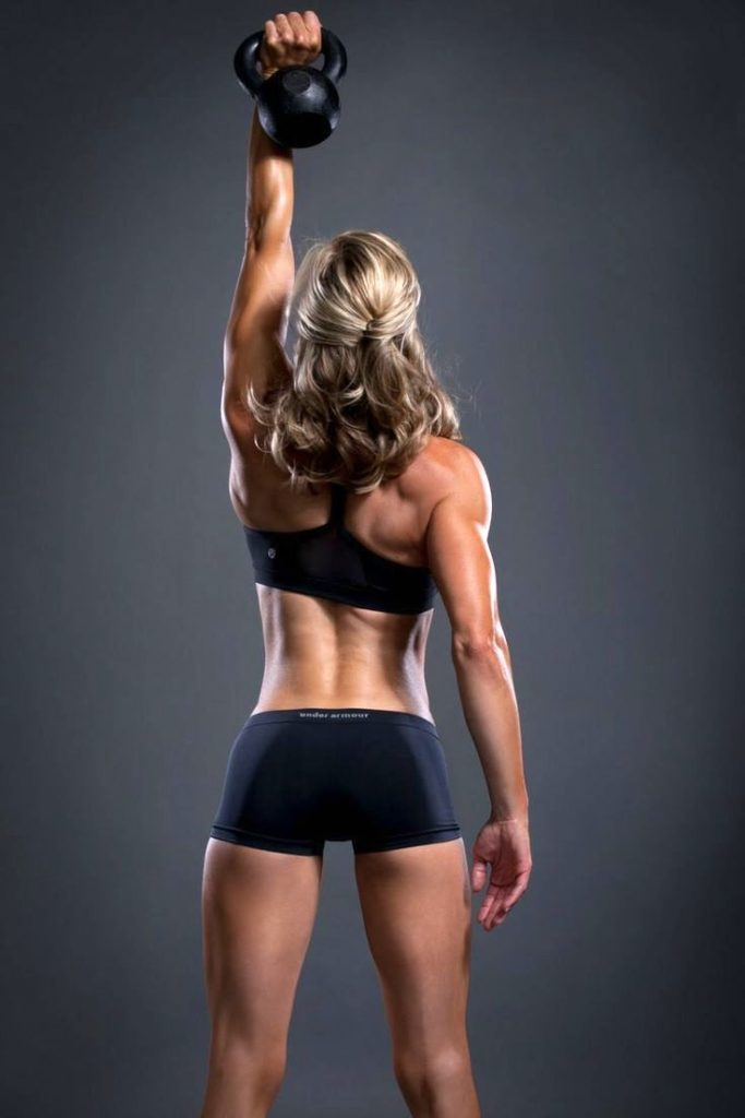 Toning workouts with Kettlebell training