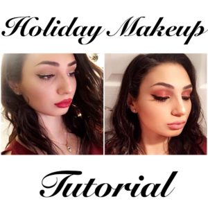 Hollywood Glam Christmas Makeup Looks Tutorials