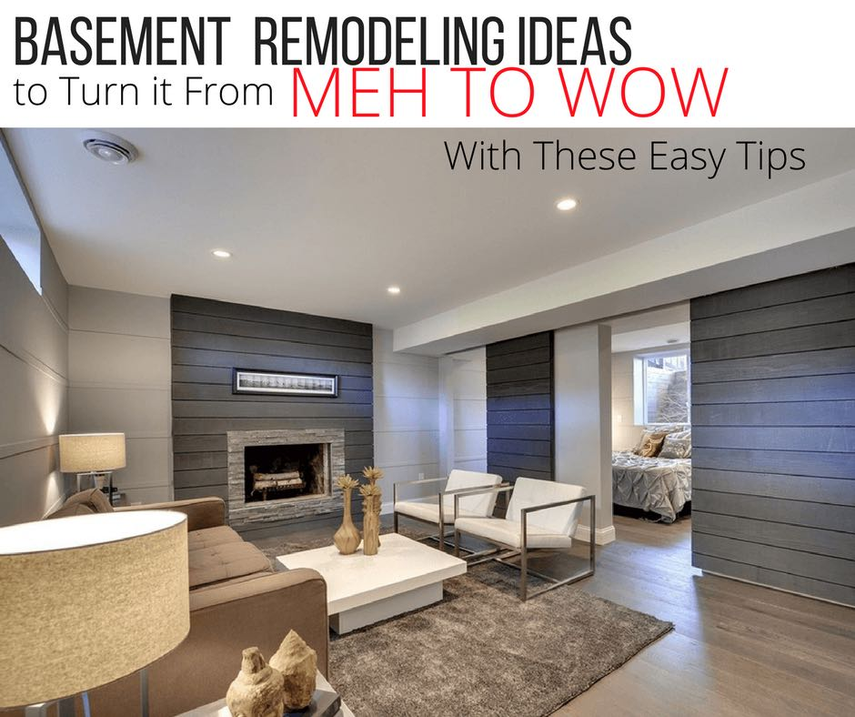 Basement Remodeling Company: Basement Remodeling Ideas Guide To Turn It From Meh To Wow