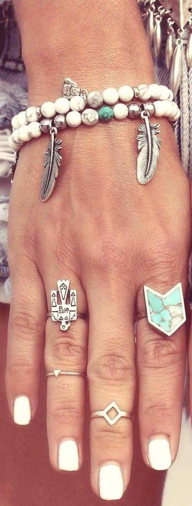 Boho accessories, Bead bracelets, Coachella style, Coachella accessories, Coachella fashion, Coachella jewelry, Boho fashion