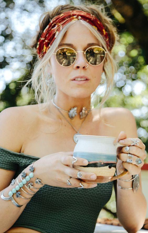 Boho accessories, Boho cuff, Boho fashion, Coachella style, Coachella accessories, Coachella fashion, Coachella jewelry