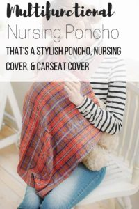 All-in-1 – Poncho That Doubles as Carseat & Nursing Cover