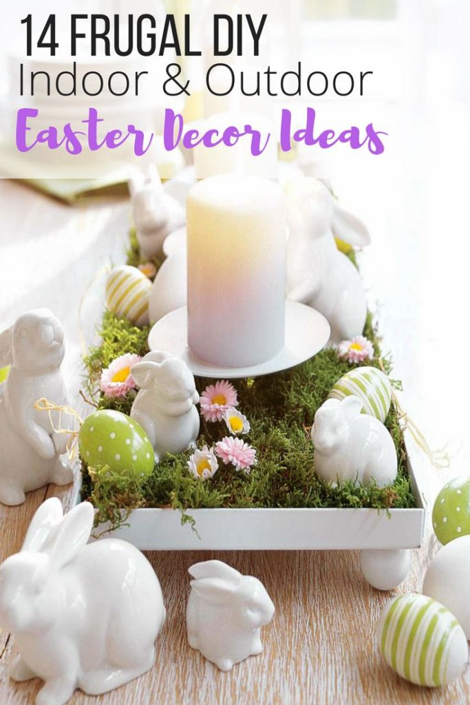 Easter decoration ideas, Easter DIY decor, Easter outdoor indoor decor