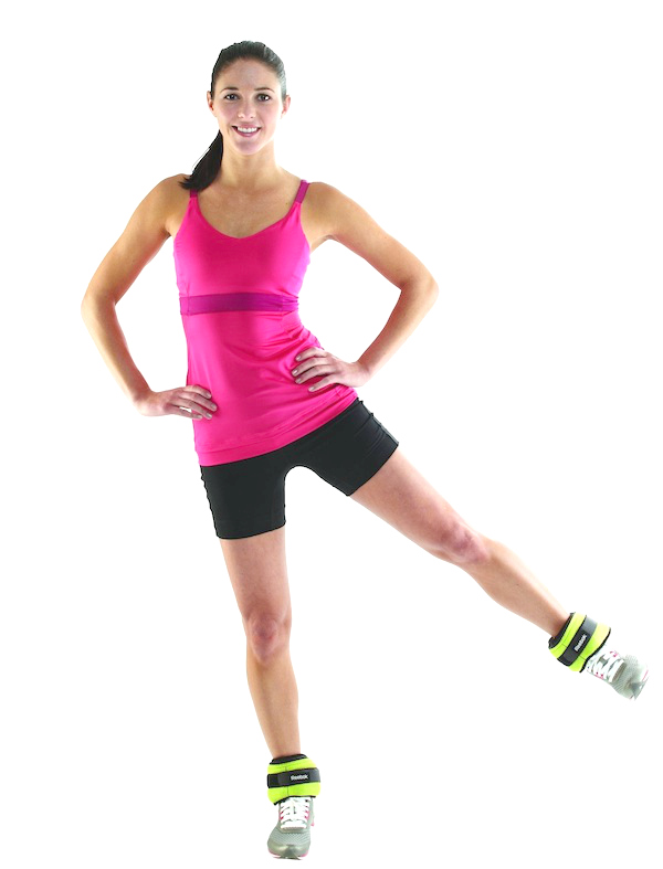 Standing outer leg lifts, leg workouts, leg exercises, workouts for women, women leg workouts