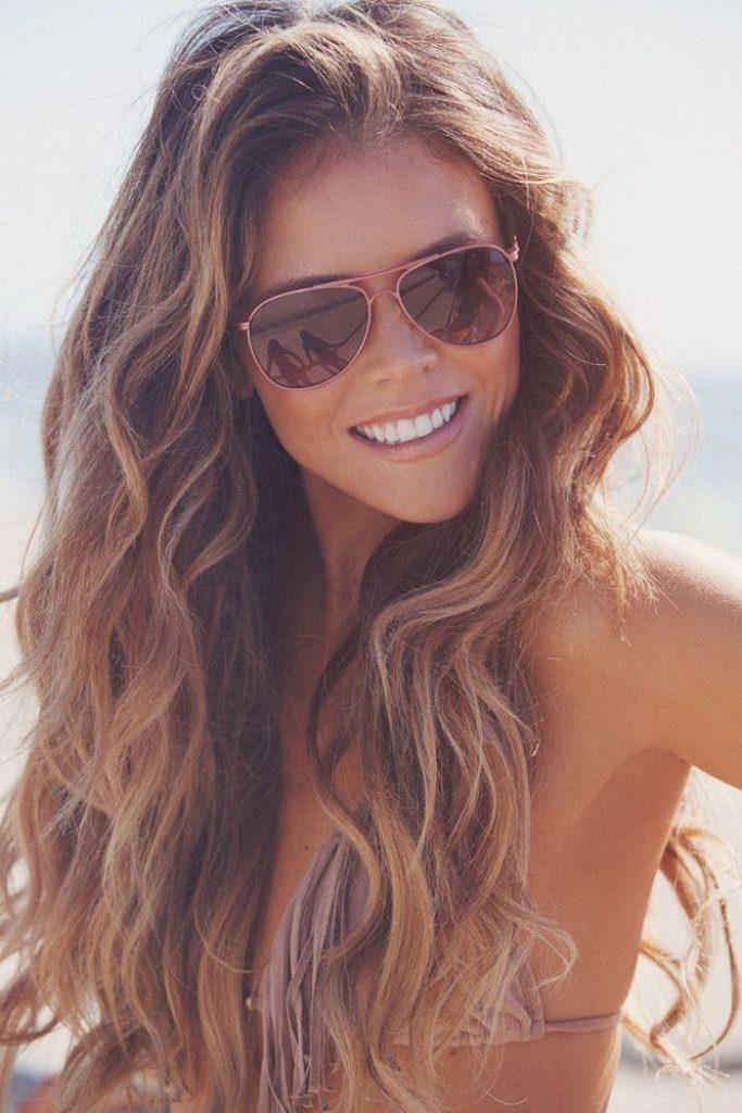 Summer tips, summer hair, summer beach hair