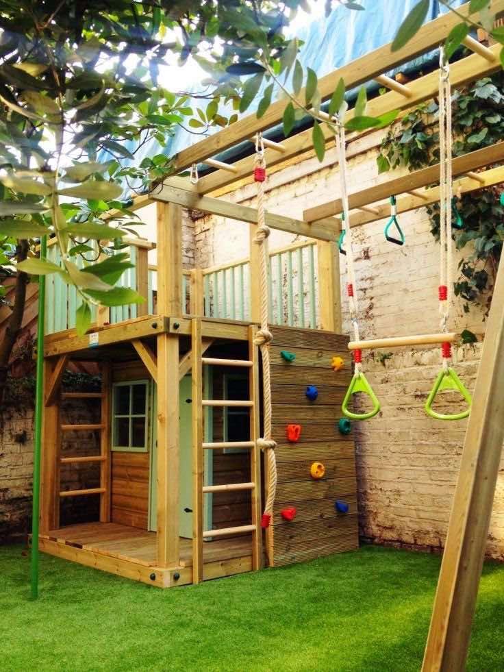 Outdoor living space, Home decor tips and tricks, Home decor ideas, Outdoor play area