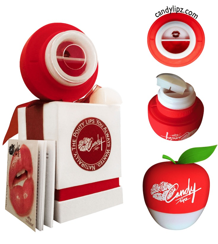 CandyLipz apple lip plumper suction device