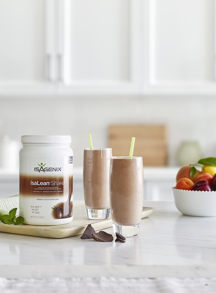 Isagenix chocolate protein