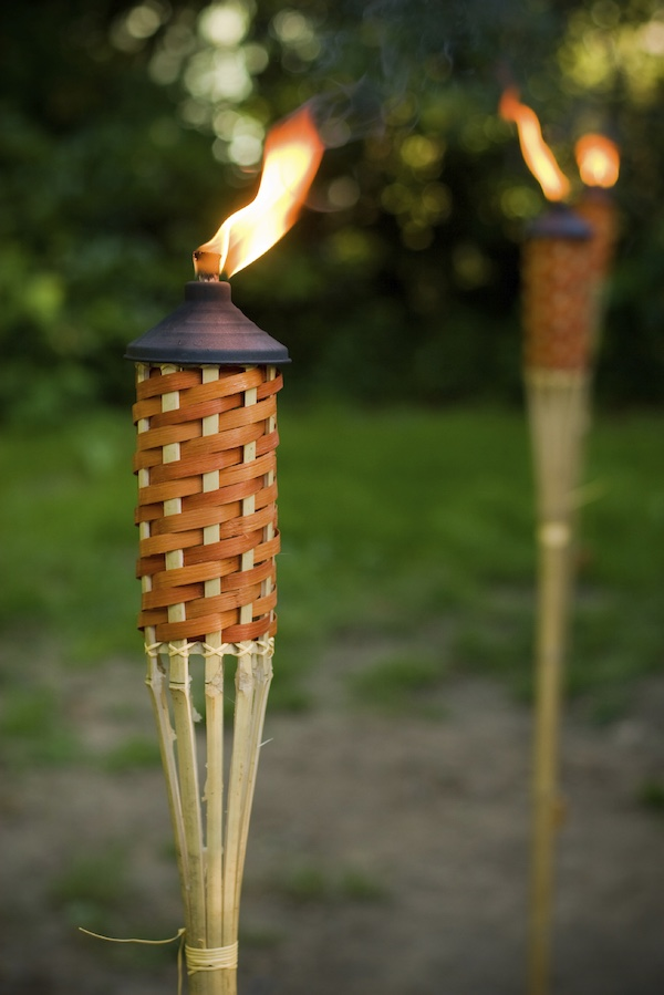 Tiki Torches for front yard
