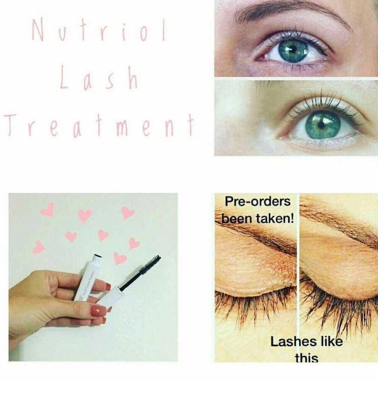 Nutriol lash growth serum