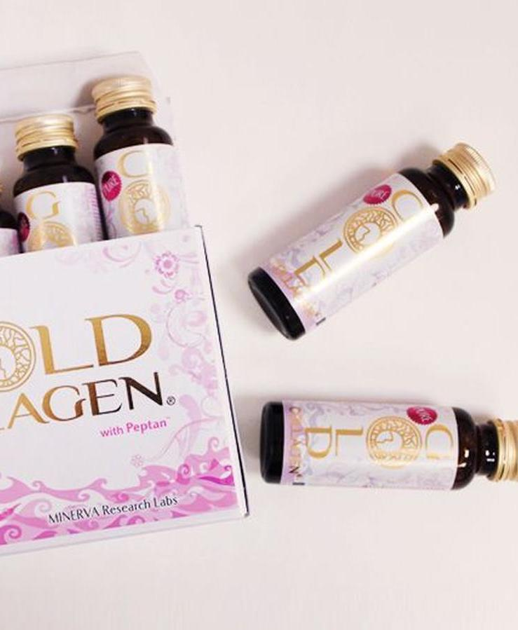 Pure Gold Collagen drink package