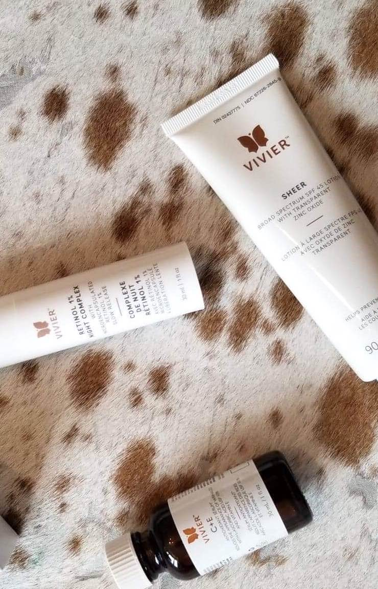 Vivier skincare products