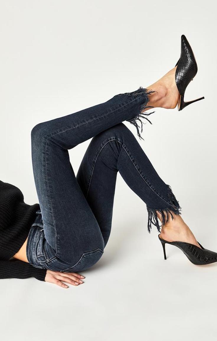 Mavi fringe Tess super skinny jeans