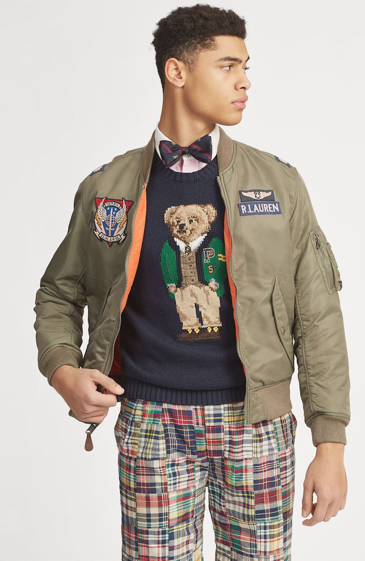 Teddy Bear Ralph Lauren sweater