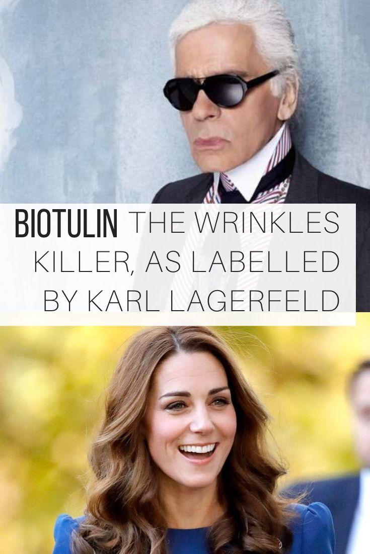 Biotulin, The Wrinkles Killer as Labelled by Karl Lagerfeld_Pin