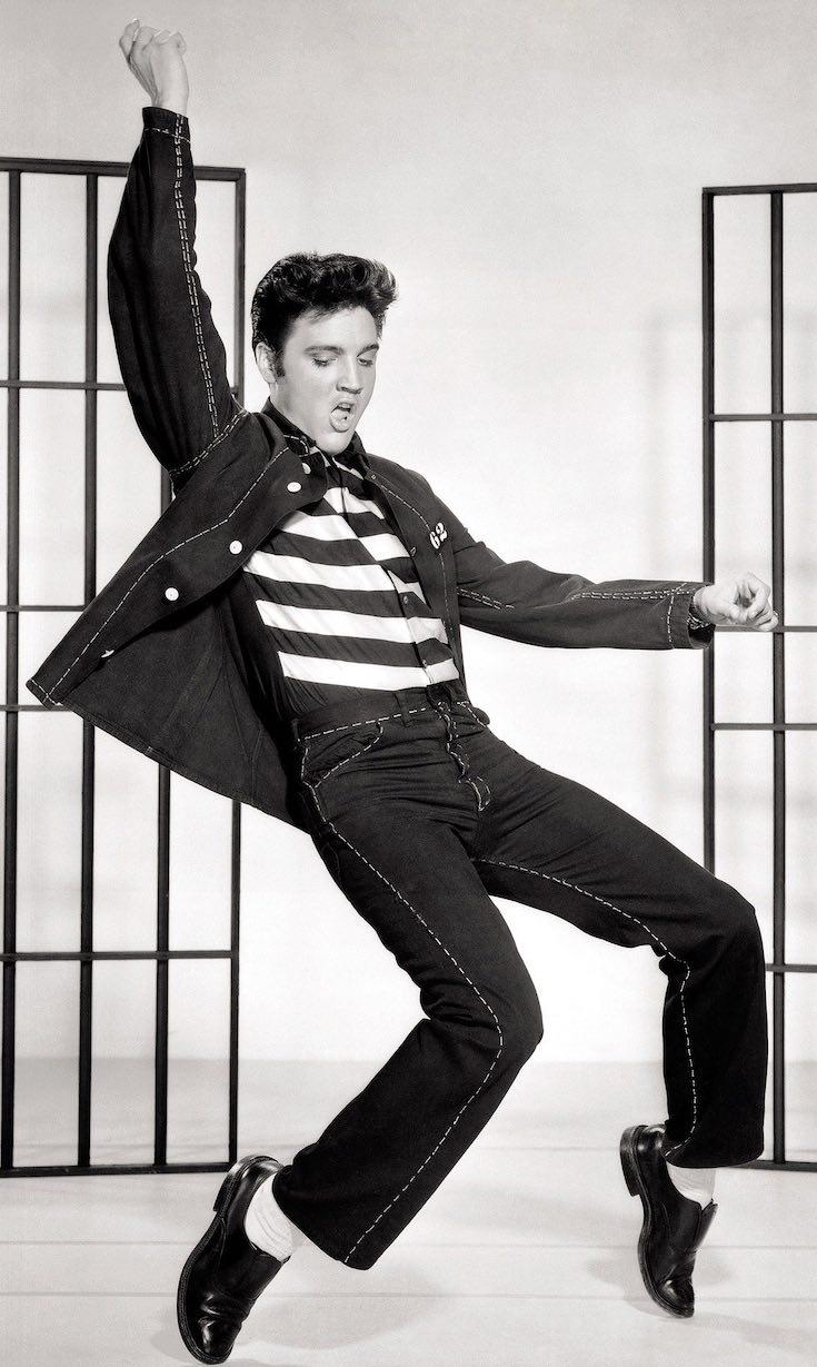 Elvis Presley, party themes, past legends