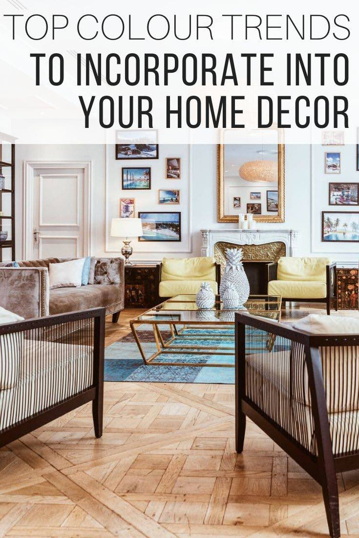 Colour Trends to Incorporate Into Your Home Decor_Pin