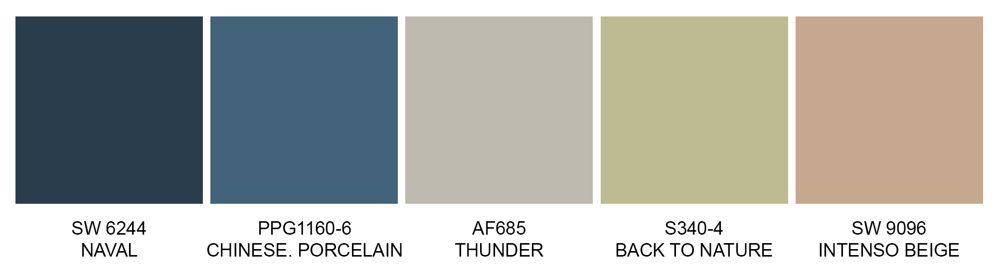 Earth colour trends