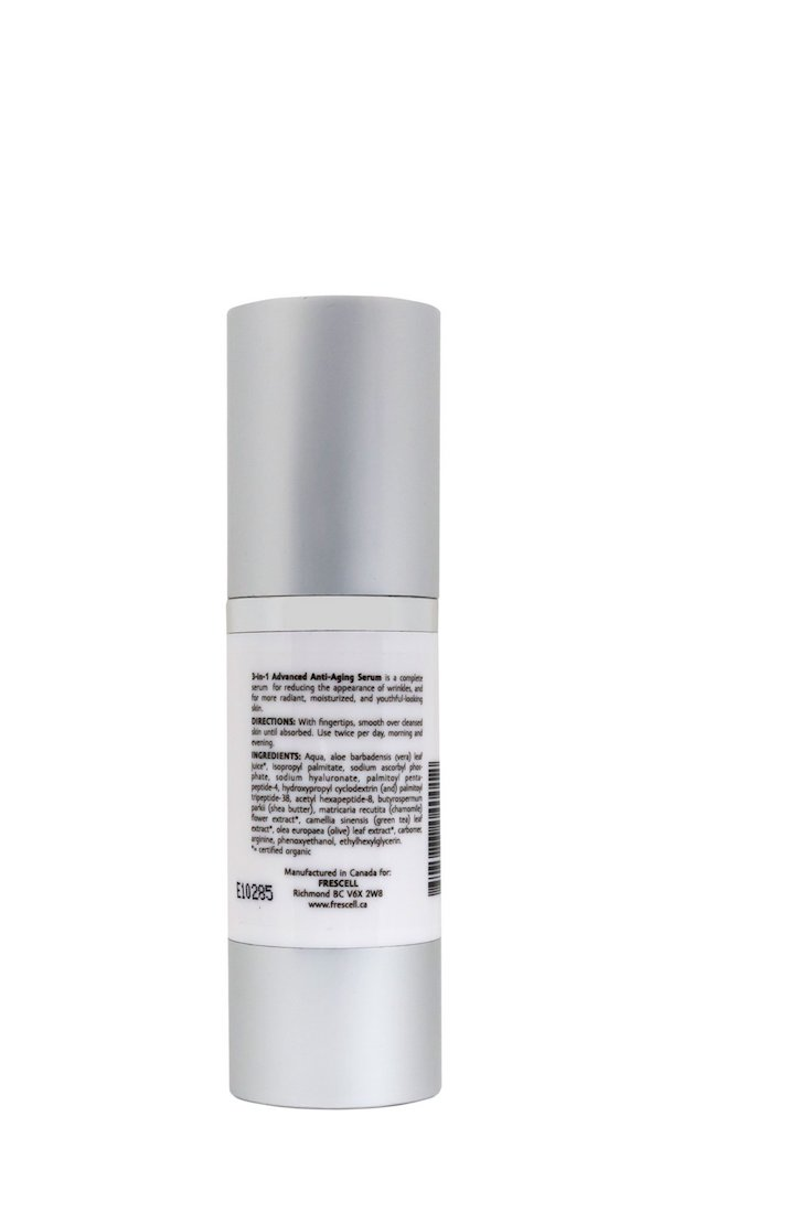 Frescell anti-aging cream ingredients