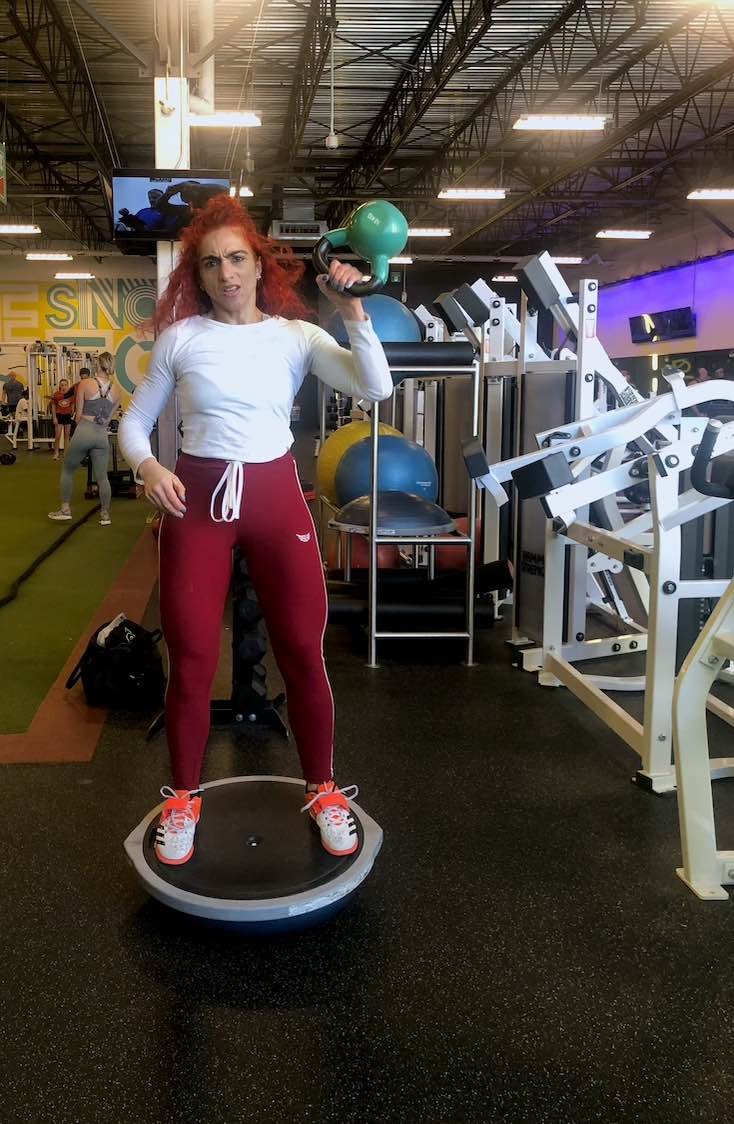 Size up soft exercise pants