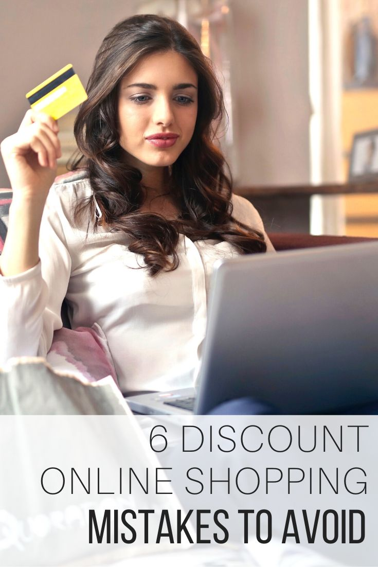 6 Discount Online Shopping Mistakes to Avoid_Pin
