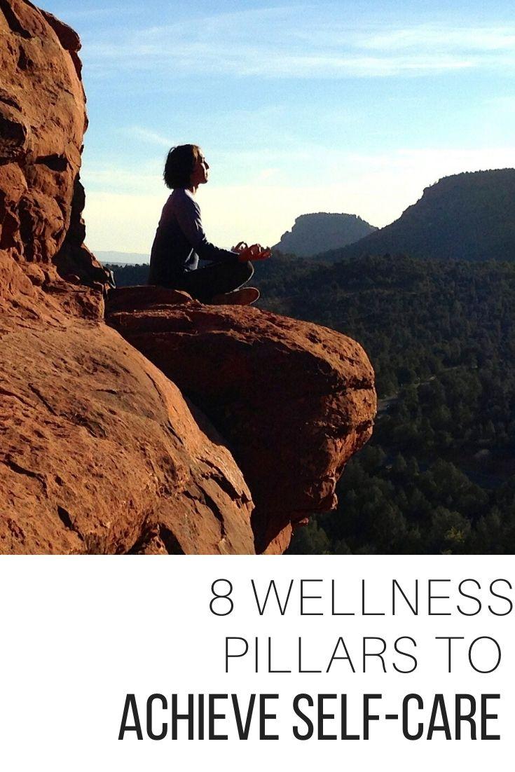 8 Wellness Pillars to Achieve Self-care_Pin