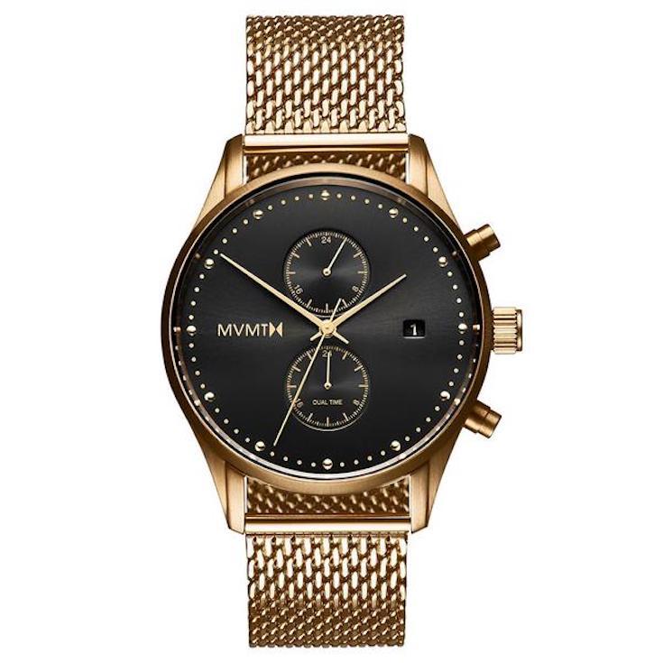 Eclipse gold MVMT Watch for men