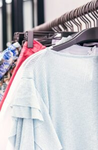 Clothing resolution, clothes rack