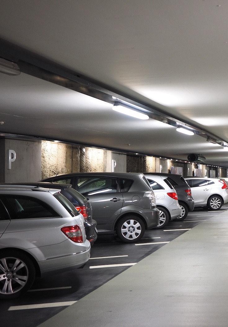 Multi storey car parking lot