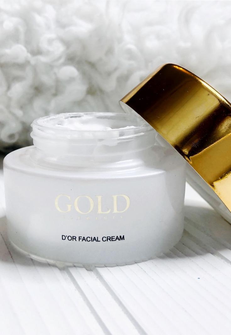 D'or Facial cream, Gold Elements