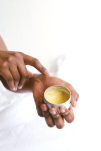 Healing home remedies, person-holding-a-hand-cream