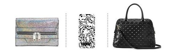 Milly purses and iPhone case