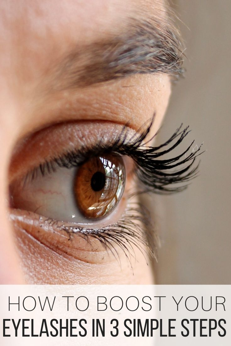 How to Boost Your Eyelashes in 3 Simple Steps_Pin