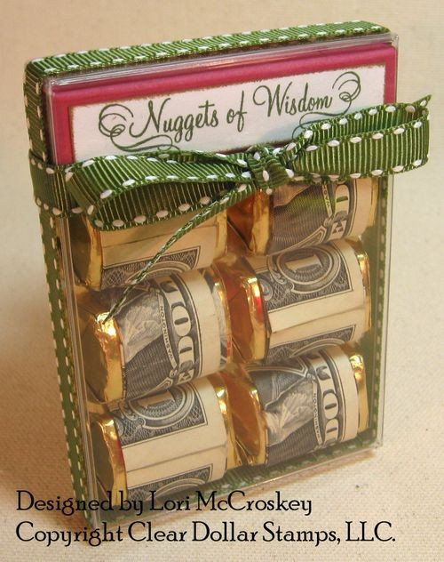 Nuggets of money last minute gift ideas