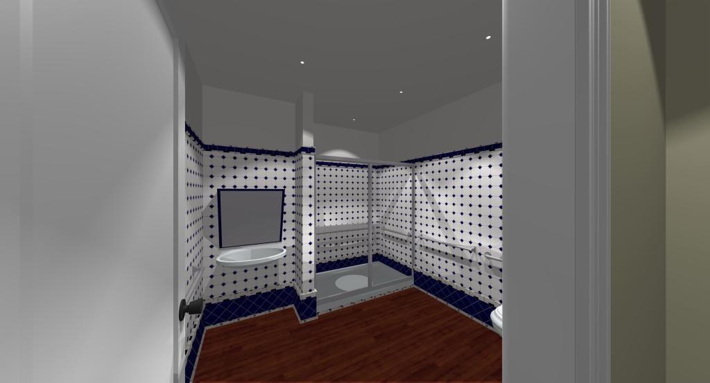 Posh City Club showers