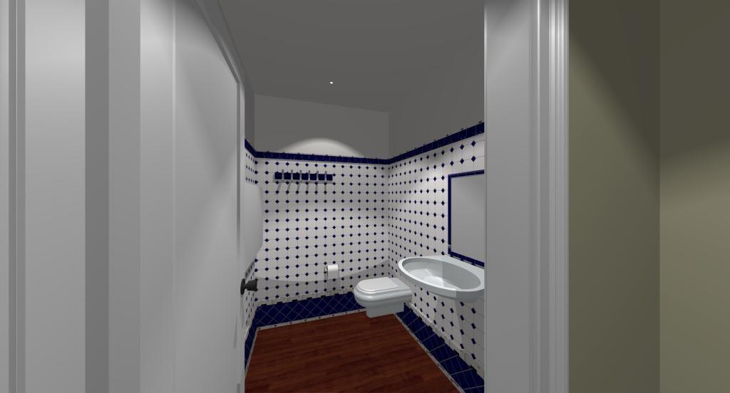 Posh City Club washrooms
