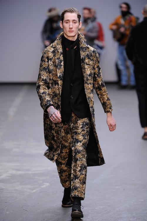 Oliver Spencer floral suit