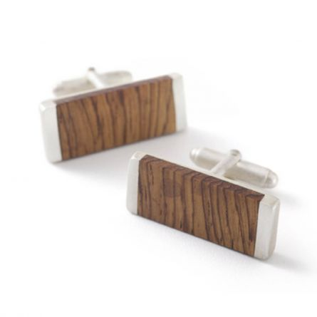 Rosewood cufflinks