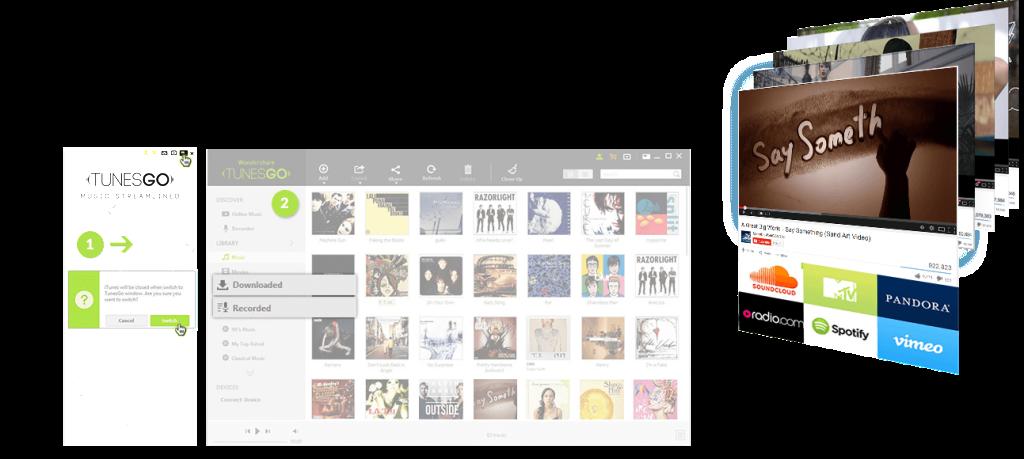 TunesGo features