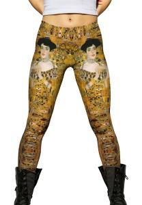 Yizzam Klimpt printed leggings