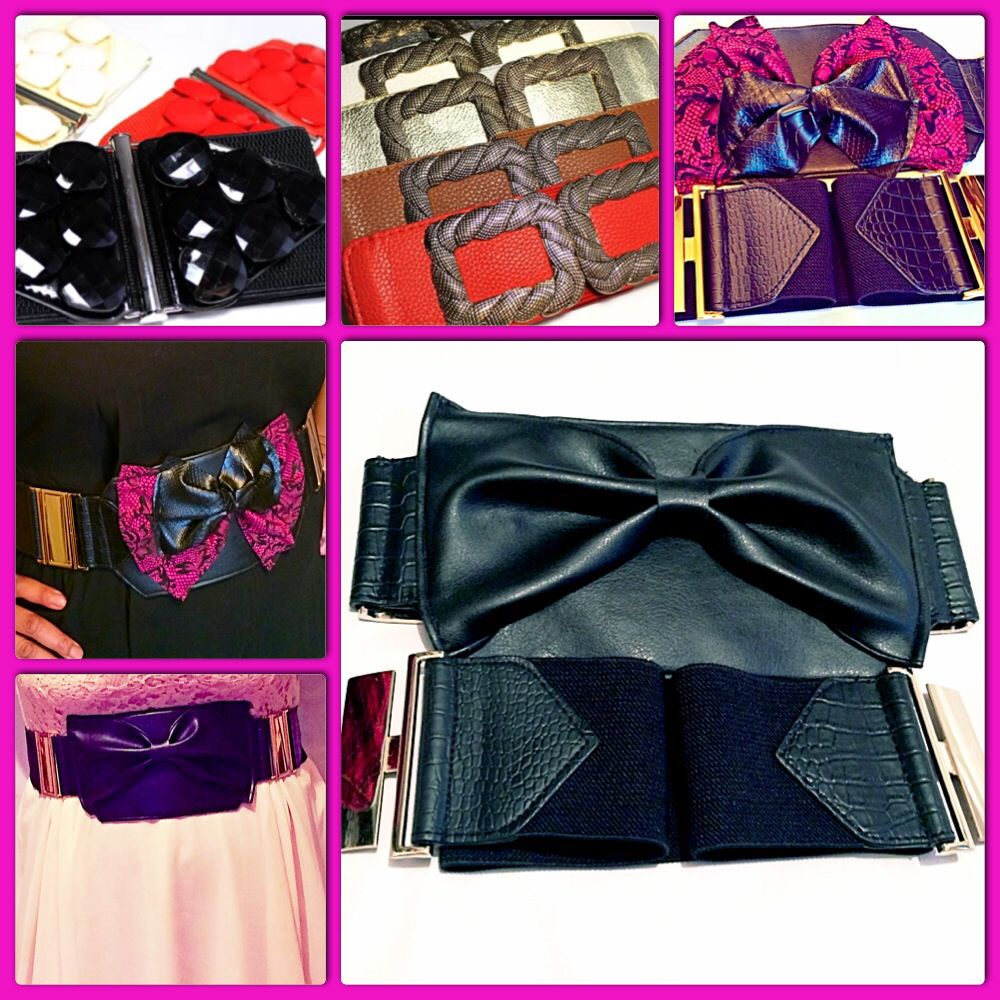 Purseable belt colours and styles