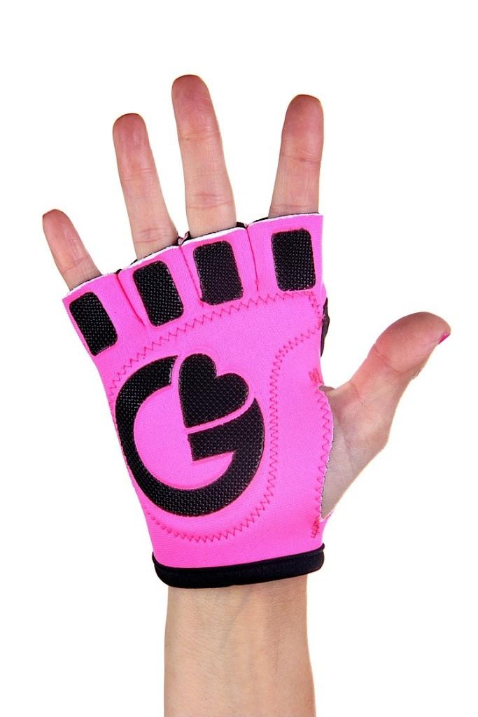 G-Loves love-is-a-battlefield workout gloves back