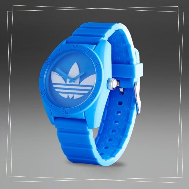 Adidas Santiago blue watch