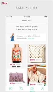 Keep Shopping app sale alerts