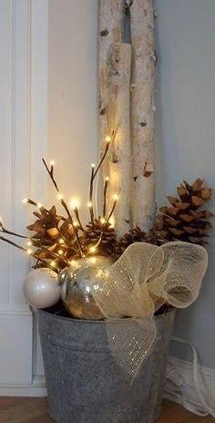 Floor practical holiday décor