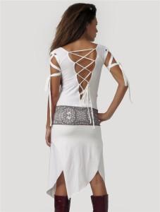 Psylo Monroe Dress RMX back view