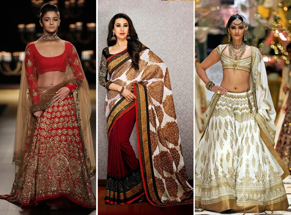Trendy womens wedding wear in South East Asia - Galvanize with Bollywood inspired dresses
