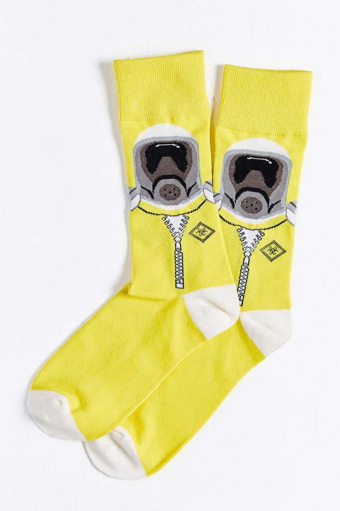 Urban Outfitters Billy Berg yellow accessories for men - socks