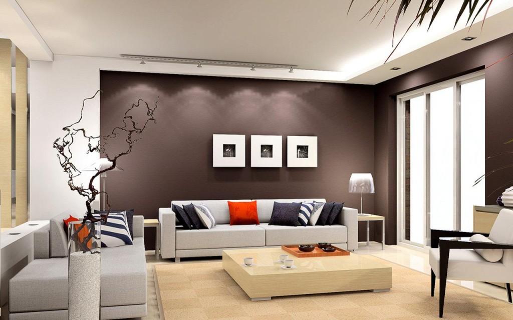 Oriental inspired living room